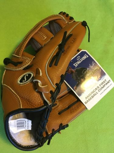 New SPALDING Baseball GLOVE 42086 TOP-GRAIN LEATHER  13 1/2