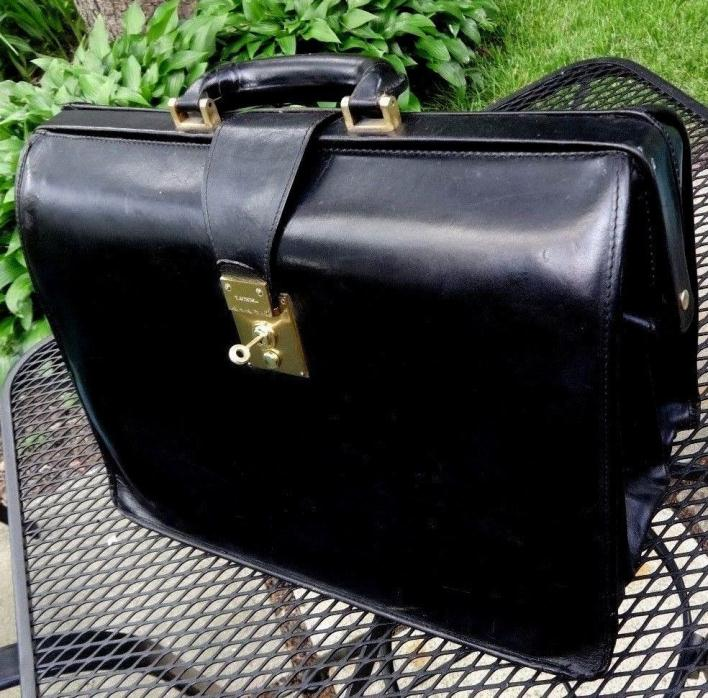T. Anthony Italian-built lawyer Gladstone briefcase: stout, stylish, clean,sound