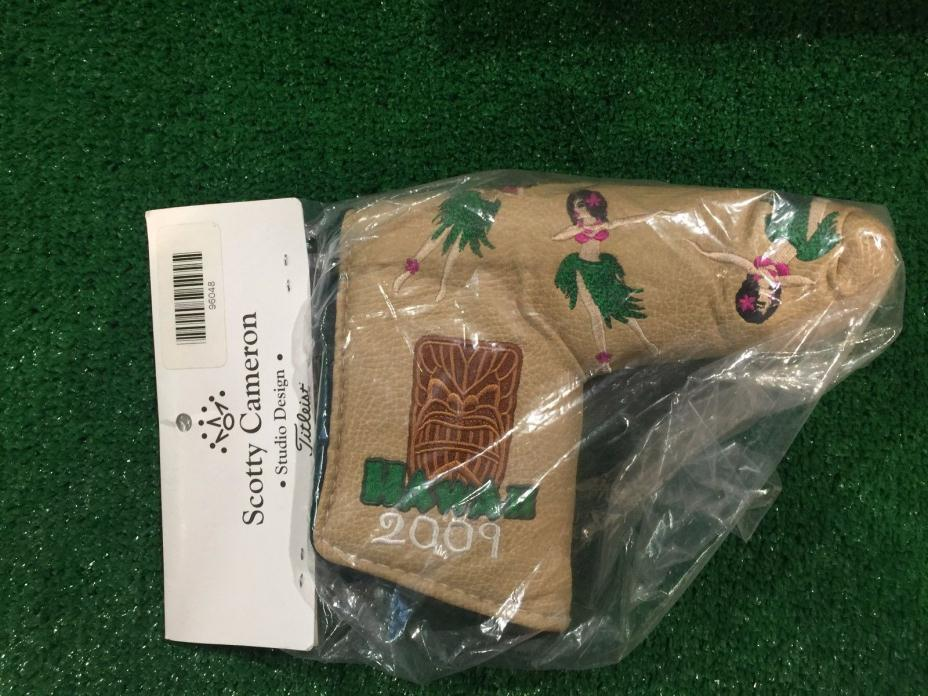 2012 SCOTTY CAMERON CLUB CAMERONLEATHER PUTTER HEAD COVER - BRAND NEW IN BAG