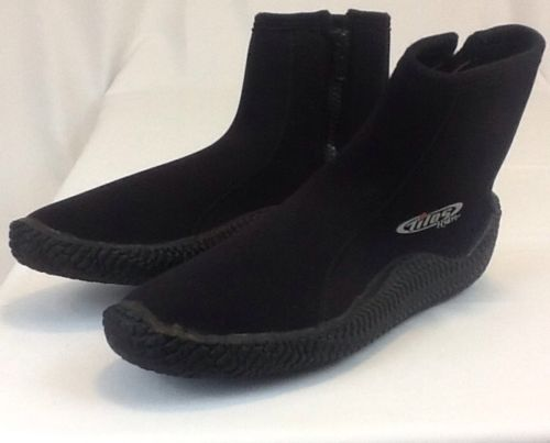 Tilos Hydro+ 5mm Titanium Zip Boot Size 13 NEW - FREE SHIPPING - Great Boots.