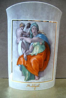 Gorgeous Goebel Artis Orbis Michelangelo Vase.