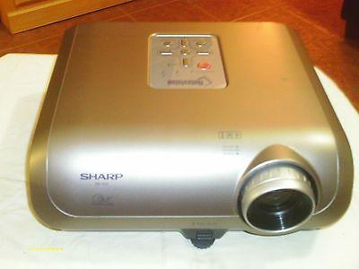 Sharp XR-10X DLP Projector (85% Life on bulb left) with 84