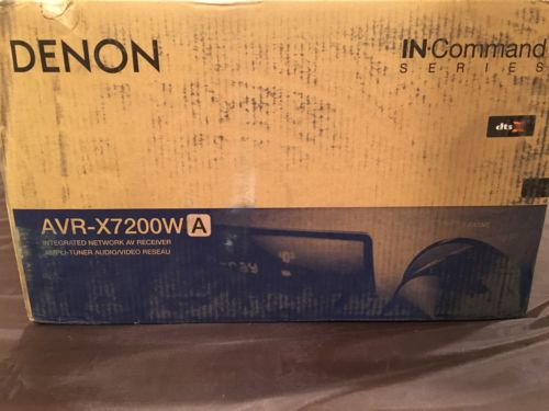 NEW + SEALED Denon AVR-X7200WA Receiver