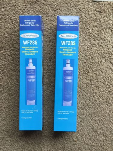 2 Ice Maker Filters Whirlpool Kenmore Sears Kitchen Aid WF285 Free Shipping