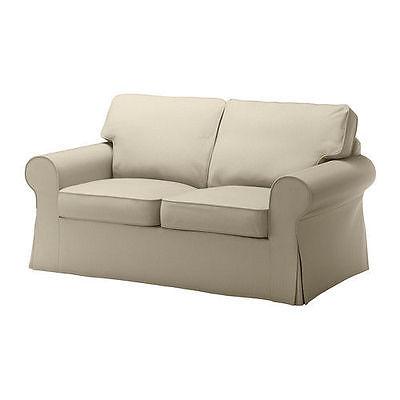 IKEA Ektorp Tygelsjo Beige Loveseat Slipcover 2-Seat Sofa Cover MultShipDiscount