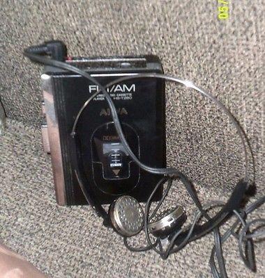 Vintage Aiwa Stereo Radio Cassette Player HS-T260 W/Aiwa Headphones