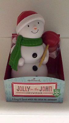 Hallmark Jolly in the John Snowman NIB