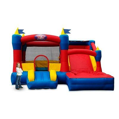 Commercial Grade/Large Inflatable Wet/Dry Bounce House