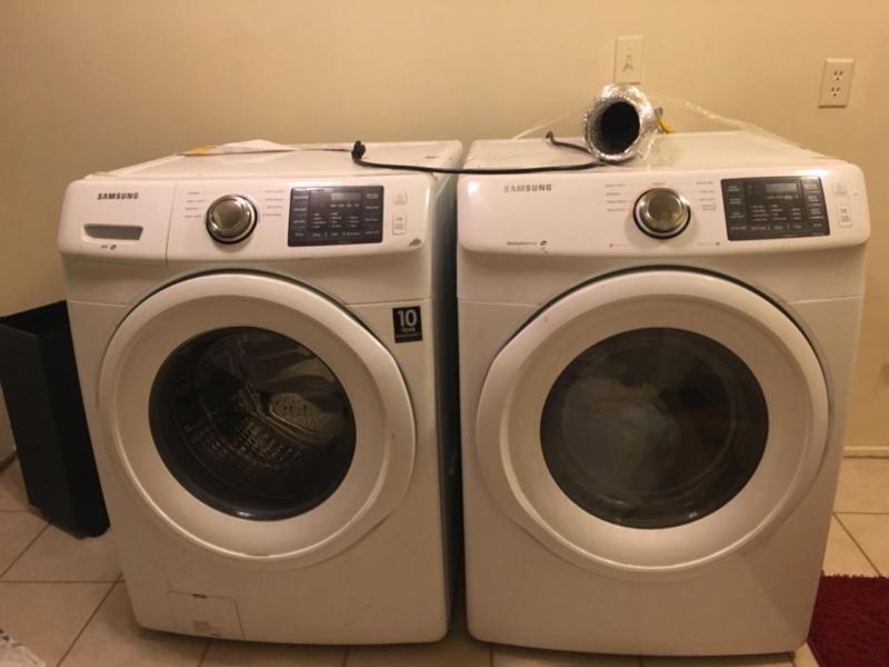 Washer & Dryer Samsung