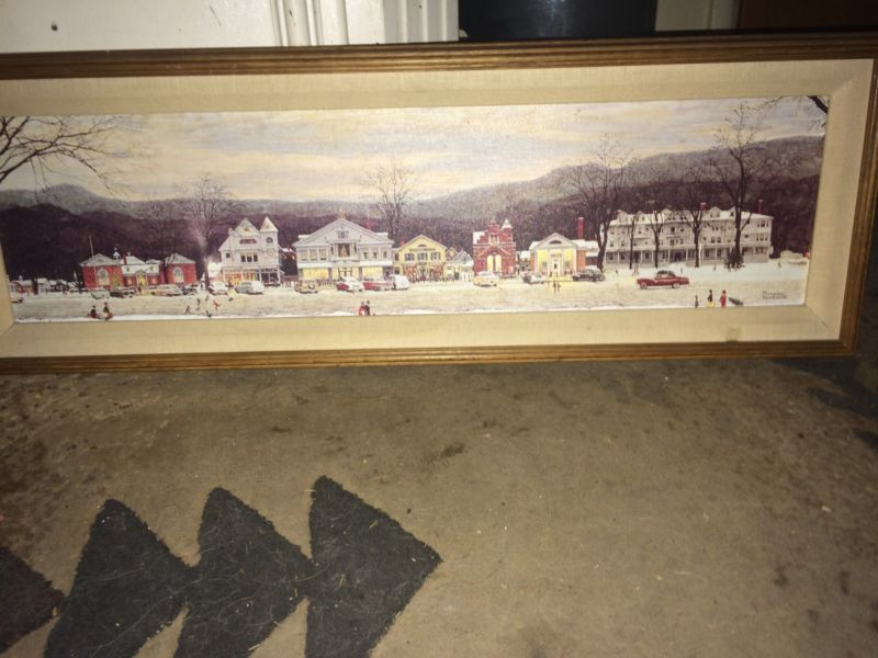 Norman Rockwell Canvas