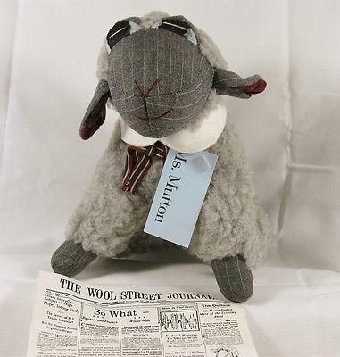 Vintage Rare Ms. E. F. Hutton Lamb Doll 1984