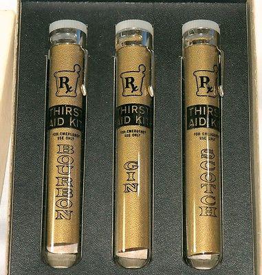 Vintage Thirst Aid Kit RARE