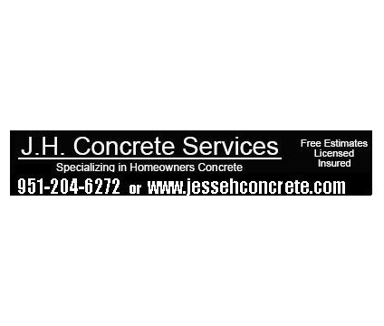 concrete to help