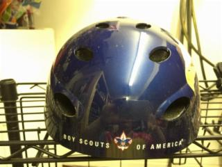 Boy Scouts Bicycle Helmet And Pads