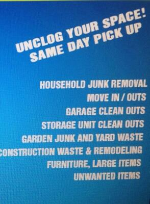 Got junk???? Are you moving weekend????