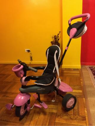 Baby Girl Tricycle