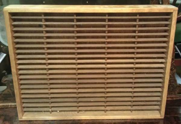 Napa Valley Wood Cassette Rack