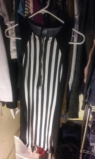 Divided by H&M referee dress