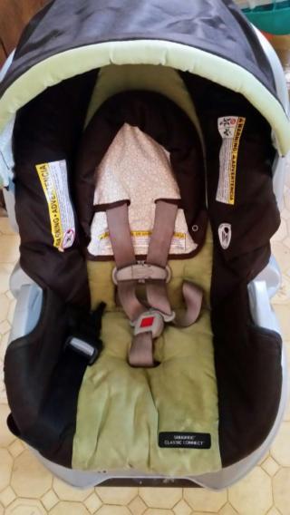 Infant car seat w/base