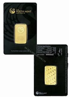 1-oz-Gold-Bar-In-numbered-sealed-assay with USPS Free Priority Shipping