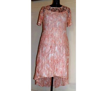 Ladies High Low Lace Maxi Dress