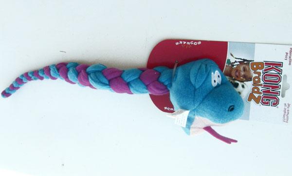 Kong Braidz Dog Toy Large Snake 16