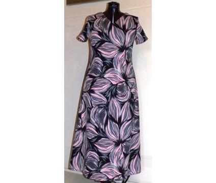 Ladies Conservative A-Line Maxi Dress