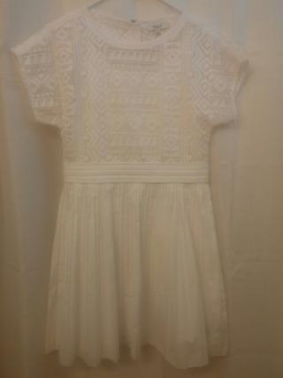 Madewell 1937 Geo-Lace Eyelet Dress