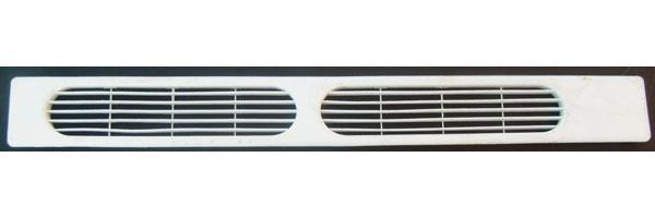 Kenmore Refrigerator Kickplate Grille 240368301 2403683 white 25.75