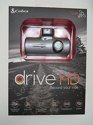 Cobra Drive HD CDR 840 with GPS Dash Cam