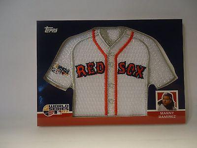 2008 TOPPS MANNY RAMIREZ BOSTON RED SOX REPLICA MINI JERSEY