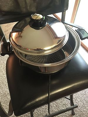 Kitchen Craft by West Bend Stainless Steel Crockpot/6-quart slow cooker