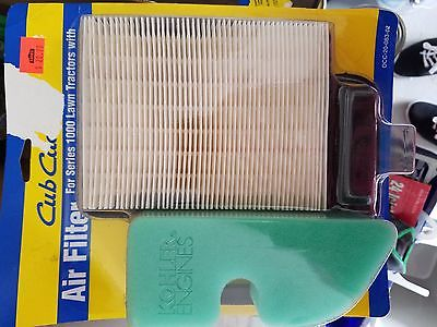Air Filter for series 1000 lawn tractors with Kohler engines