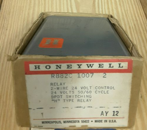Vintage Honeywell Switching Relay R882C 1007 2