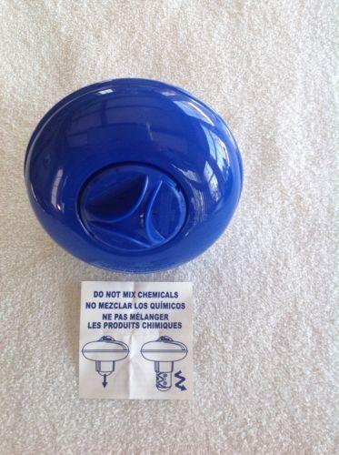 hot tub/spa chemical floater tablet dispenser