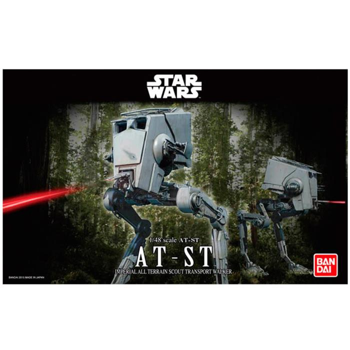 Bandi Star Wars 1/48 AT-ST Imperial All Terrain Scout Transport Walker BAN194869