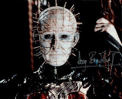 Hellraiser Doug Bradley as Pinhead Signed Auto Autograph 8x10 Photo