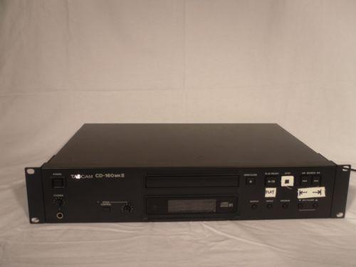 USED-TASCAM-CD-160MKII- Used Tascam CD-160mkII CD Player