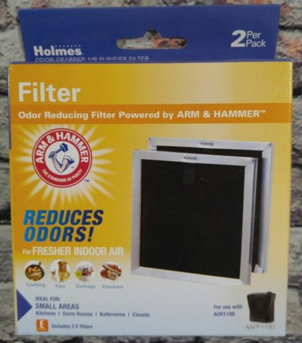 Holmes Arm & Hammer Odor Grabber Air Purifier Filters 2-pack, AAPF115D, AOR118B