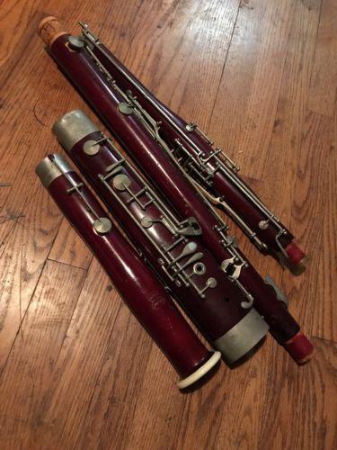 Selmer Signet Bassoon (for Parts Or Repair)