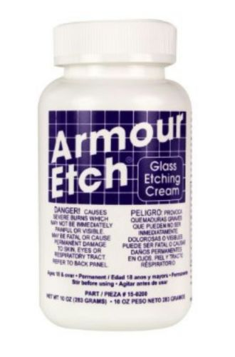 Armour Etch Glass Etching Cream 22 Ounce Bottle New/Unopened /Free Priority Mail