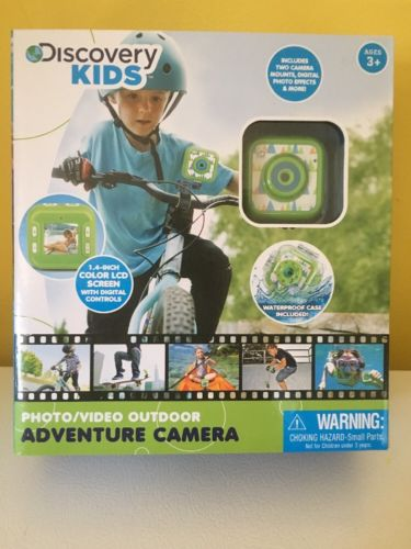 •Discovery KIDS• Adventure Camera Ages 3+ Waterproof Case-Retail Value-59$