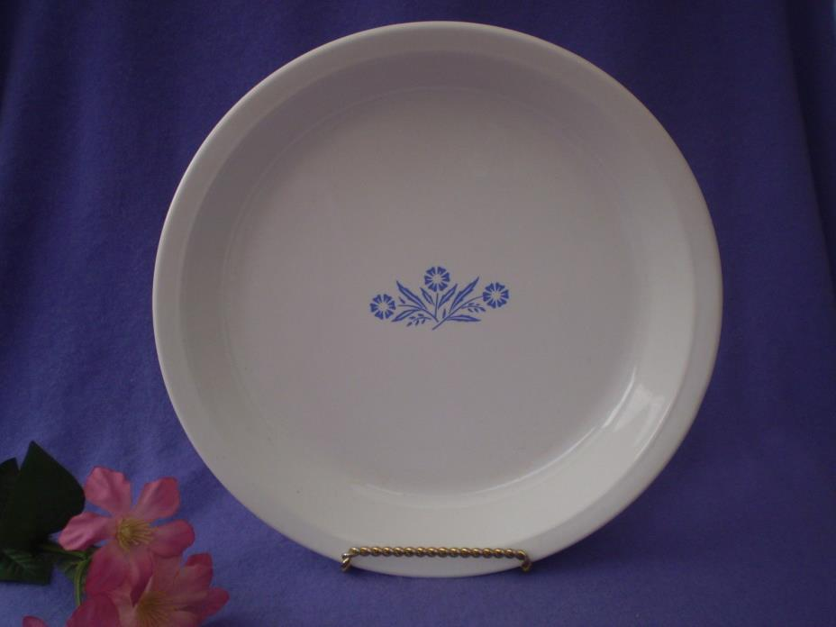 Corning Ware Dishes Corelle Cornflower Blue Pie Serving Plate