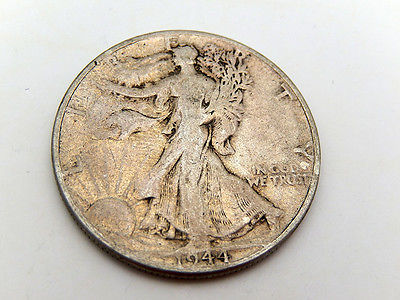 1944 Walking Liberty Silver 50 Cent Half Dollar Coin