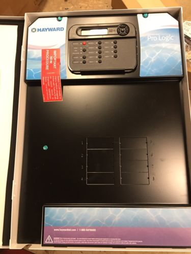 Hayward Goldline PL-PS-8 ProLogic 8-Relay 2-Heater Pool/Spa Temp. Controller