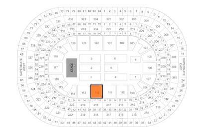 2 Tickets Andrea Bocelli 12/6/17 United Center Sec 112 Row 2