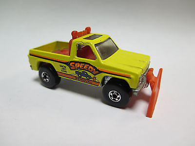 1979 Hot Wheels Speedy Removal Chevrolet Truck Snow-plow