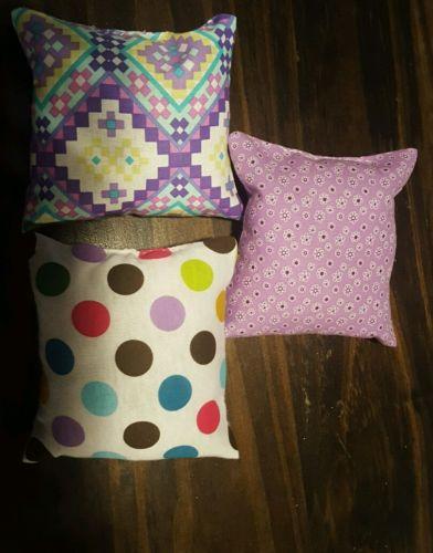 Handmade catnip pillow toys - Set of 3 -
