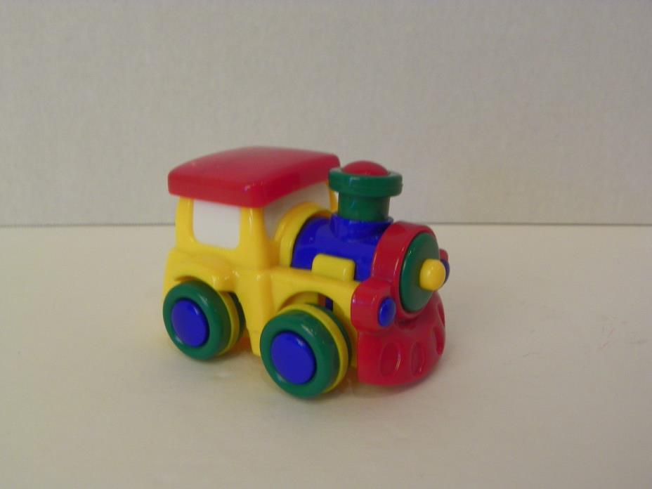Jackpot Hobby Lobby Train Engine Toy Smoke Stack Motion Red Yellow Blue Primary