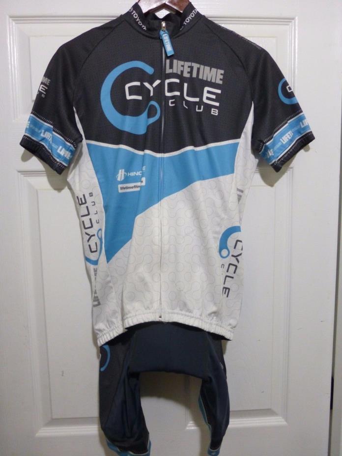 Hincapie Lifetime Cycle Club Bib Shorts and Jersey Set Size Medium